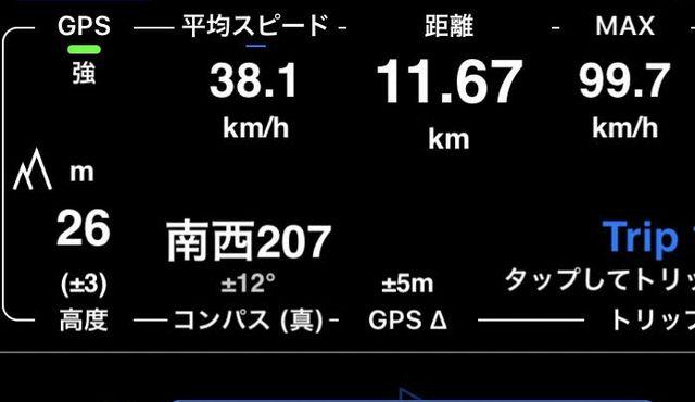 ジェットスキー スピード