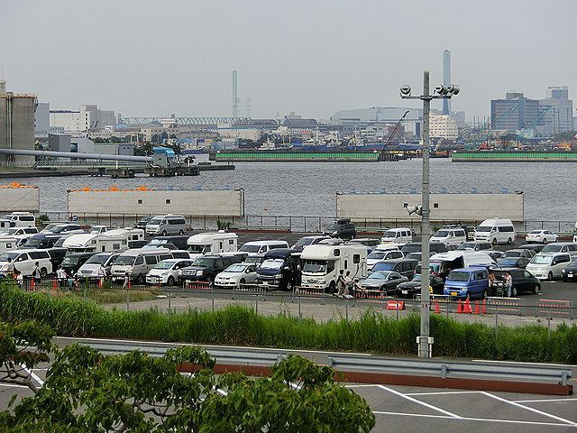 東京ビッグサイト,駐車場