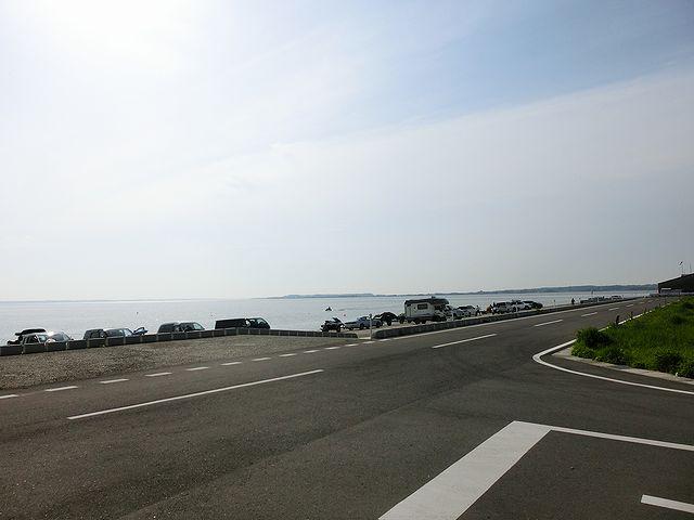 霞ヶ浦大山スロープゲレンデへ
