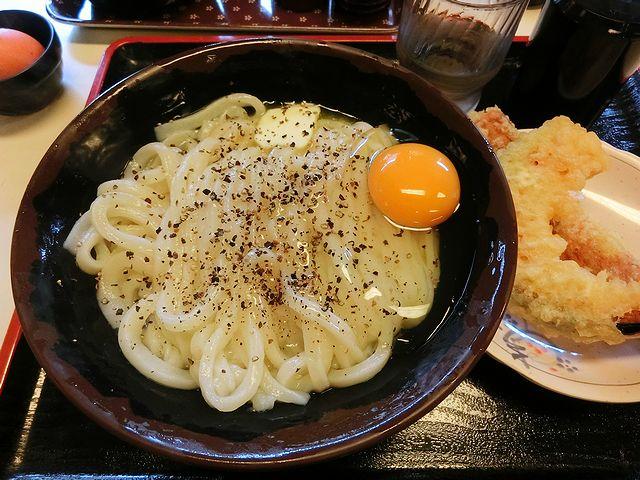 かま玉バター