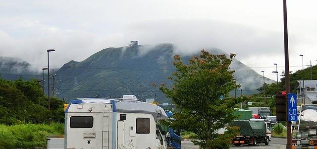 キャンピングカー 箱根峠