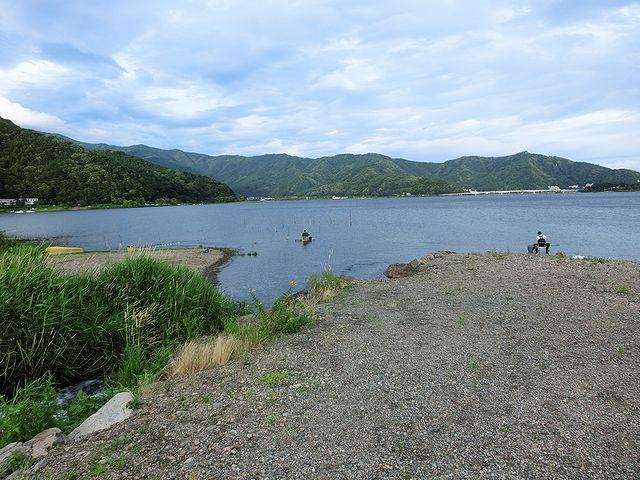 河口湖 キャンピングカー
