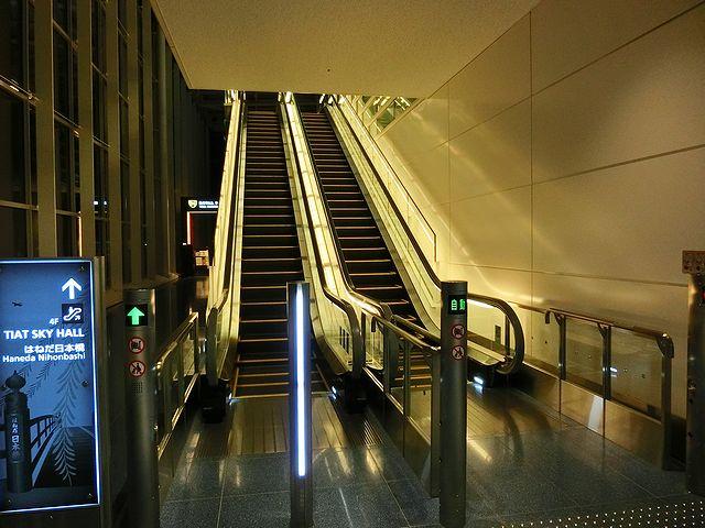 羽田空港国際線ロビー 宿泊