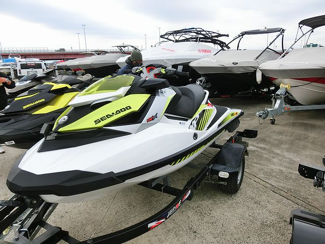 SEA DOO RXP-X 300RS 試乗