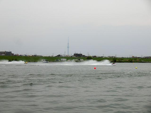ジェットスキー ドラッグレース