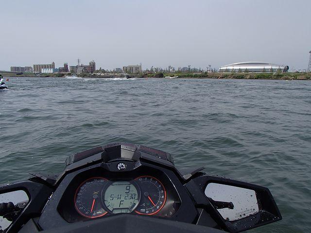 3メーカー合同 水上オートバイ体験試乗会