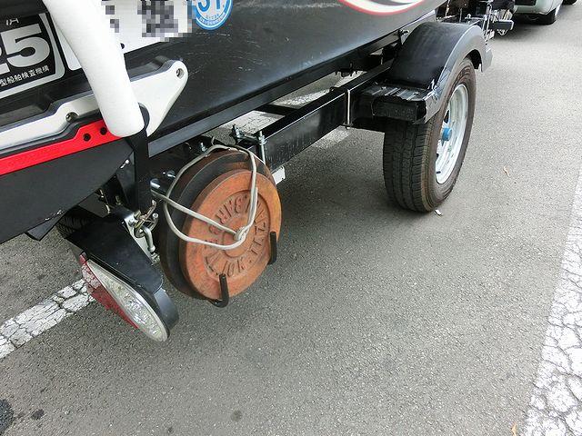 ジェットスキー トレーラー 改良