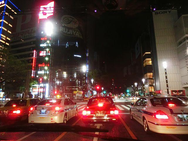 銀座 タクシー