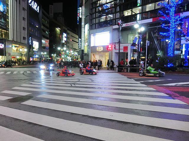 渋谷 マリオカート