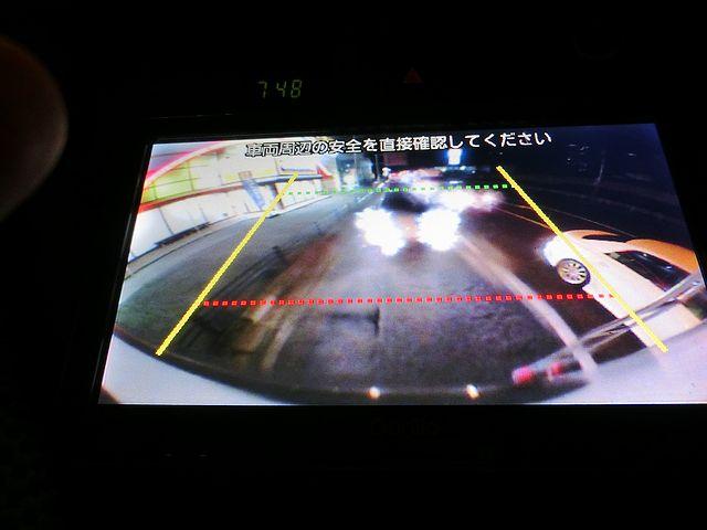 キャンピングカー バックアイカメラ