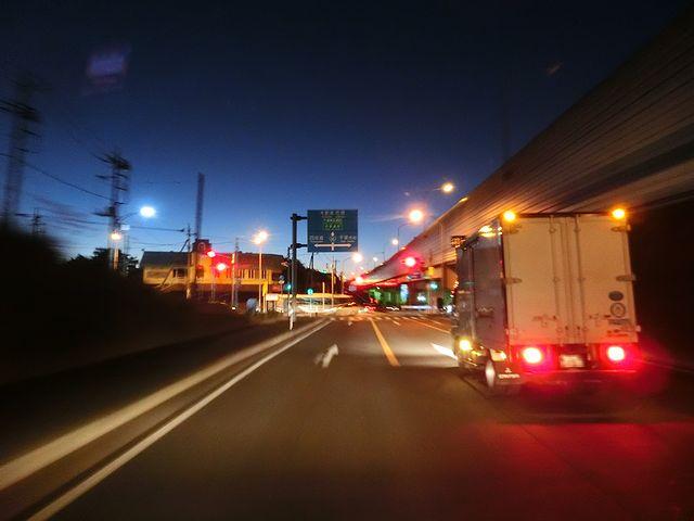 夜明け ドライブ