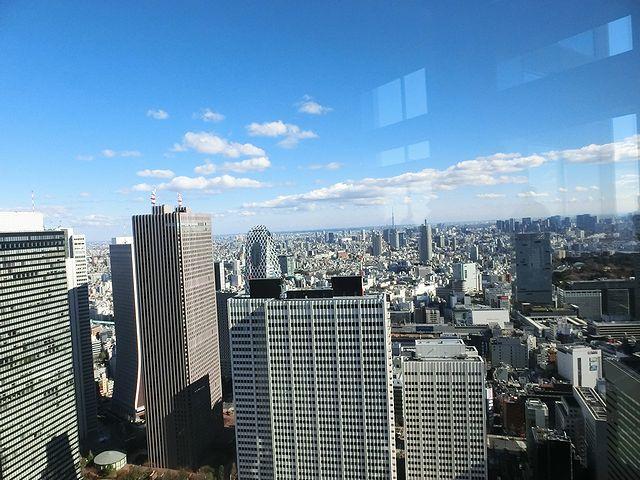 東京都庁舎 展望台