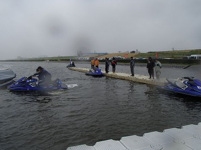 ジェットスキー 3社合同試乗会
