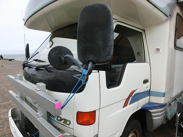 キャンピングカー 補助ミラー