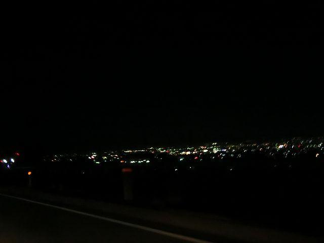 甲府市 夜景