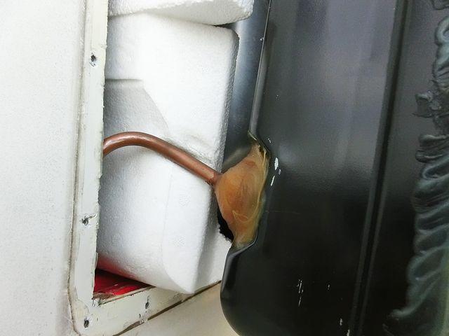 キャンピングカー 温水ボイラー