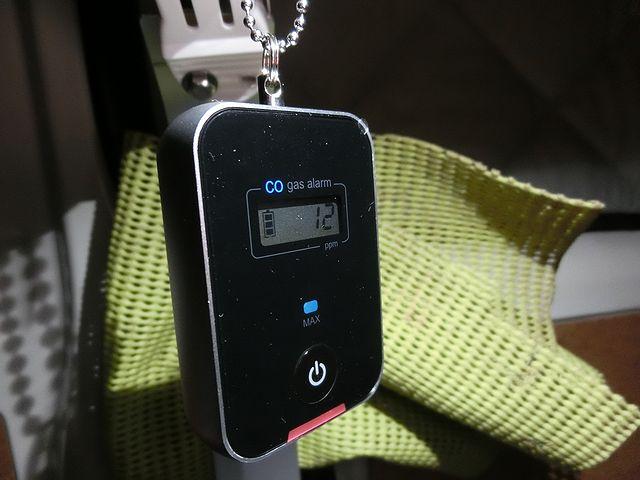 一酸化炭素濃度警報装置