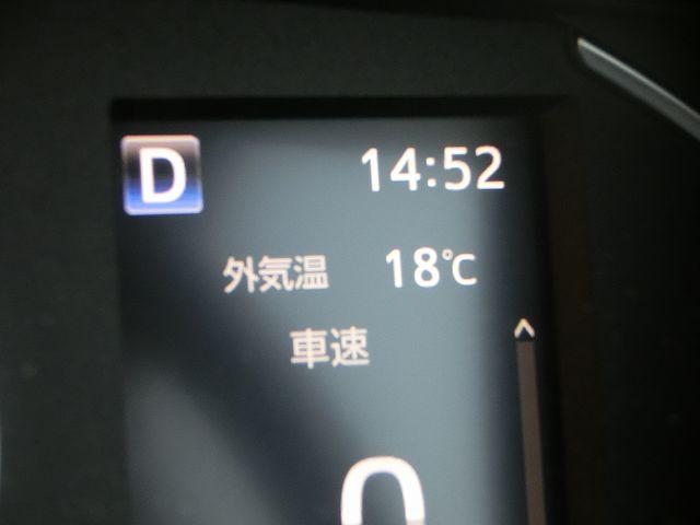 ハイエース 外気温