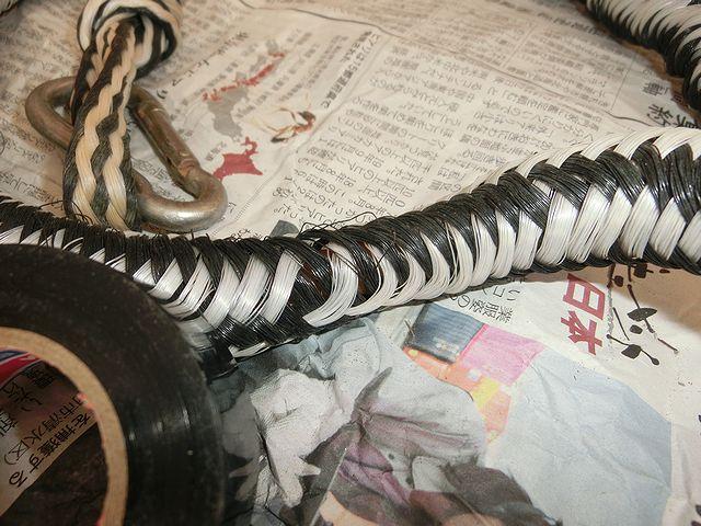 伸び伸びアンカーロープ